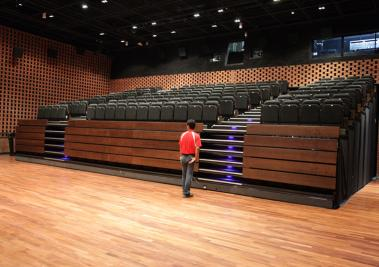 Retractable Removable And Auditorium Seating Audience