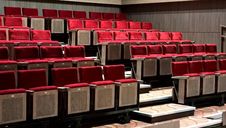 Recital & Retractable Seating - Audience Systems