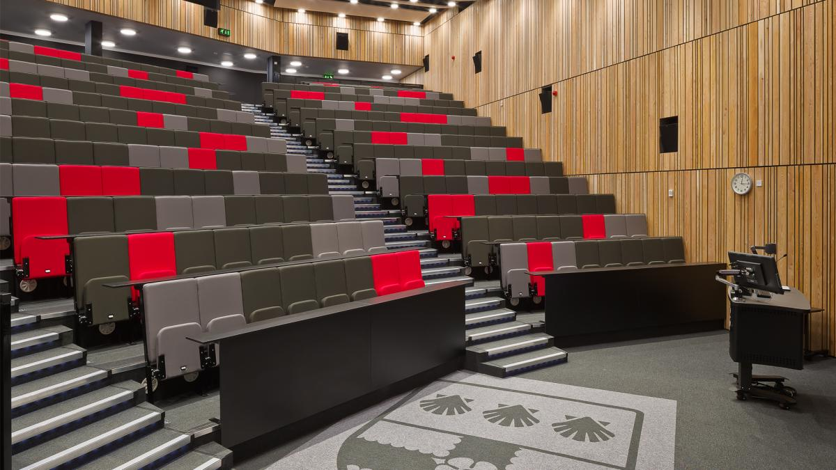 University Of Reading Lecture Theatre Seating For Morgan