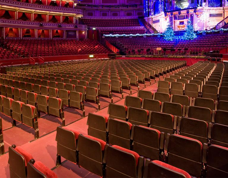 Royal Albert Hall Theatre Seating By Audience Systems