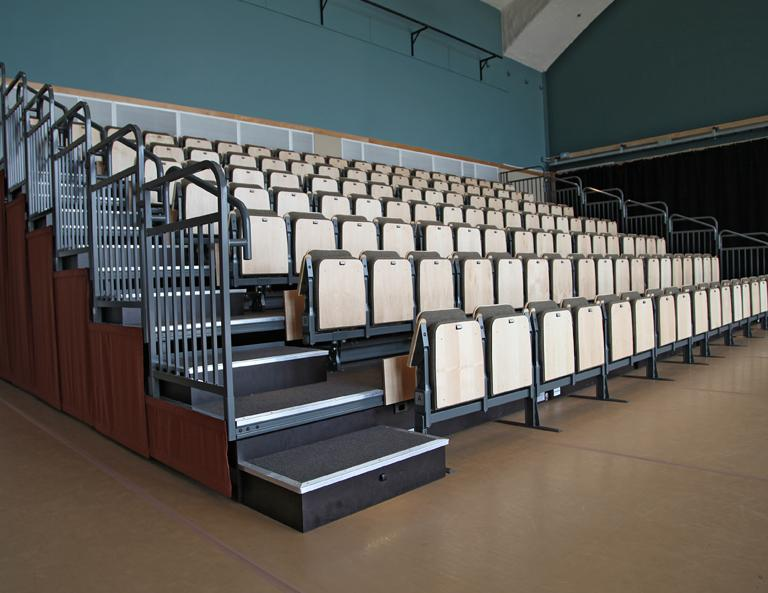 Citydance Center Retractable Seating Audience Systems