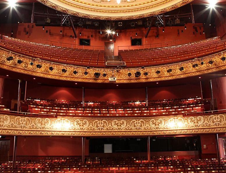 Wolverhampton Grand Theatre Audience Systems