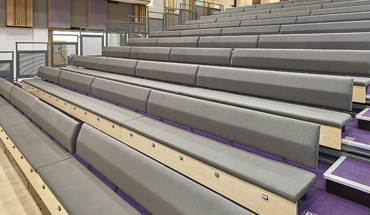 Chorus Bench Retractable Seating