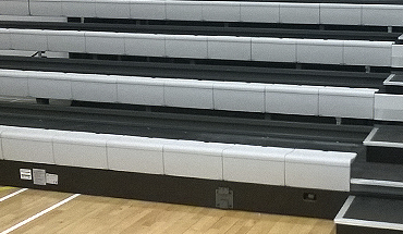 Contour Plastic Bench Retractable Seating