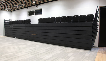 Retractable Seating Audience Systems