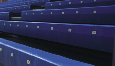 Profile Plastic Bench Retractable Seating