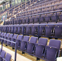 arena upright geometry seating