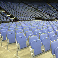 arena removable seating