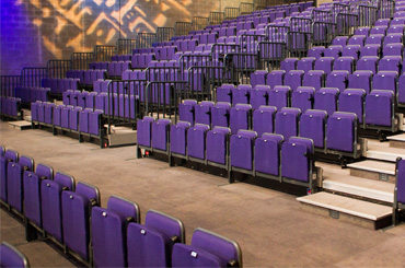 Seating For Conference Facilities Audience Systems